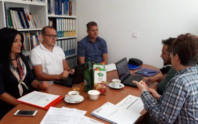 """Sastanak koordinatora projekta  """"Učesničko budžetiranje- mogućnost efektivnog angažovanja građana"""""""