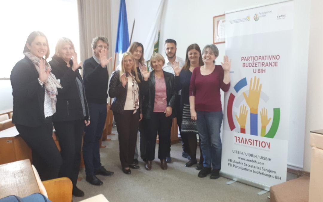Održana edukacija koordinatora za nove općine koje će učestvovati u projektu Participativni Budžet u BiH